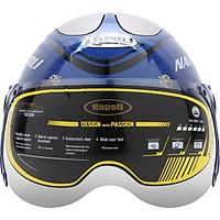 Mũ Bảo Hiểm Xe Máy - Mũ Bảo Hiểm 1/2 Đầu Napoli N015 Mẫu Mới 2020