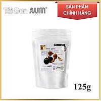 Tỏi Đen AUM Nguyên Vỏ Túi Nhôm Black Garlic  (125g)
