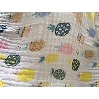 Khăn tắm xô 6 lớp mềm kích thước 110cm*110cm