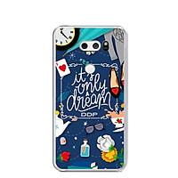 Ốp lưng dẻo cho điện thoại LG V30 - 0199 DREAMGIRL02 - Hàng Chính Hãng