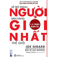 Sách  Để Trở Thành Người Bán Hàng Giỏi Nhất Thế Giới tặng 1 cuốn rèn luyện kĩ năng cho bé