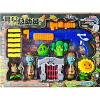Đồ chơi phụ kiện phiên bản bắn xốp dài cho trò chơi hoa quả nổi giận plants vs zombies (màu ngẫu nhiên)