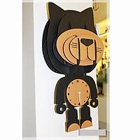 Đồng hồ hình con mèo