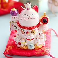 Mèo Thần tài Jinshi Cầm búa