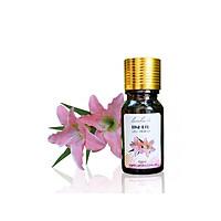 Tinh dầu Hoa Ly Lam Hà Lyli (10ml): giúp thanh lọc không khí, tăng khả năng hoạt động của phổi, kích thích tuần hoàn và có tác dụng chống vi khuẩn, nấm, ẩm mốc.