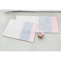 Bộ 2 chiếc thảm Hanil Capet mã Stripe chất liệu cotton