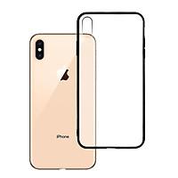 Ốp lưng Iphone XS Max - Bề mặt nhám chống vân tay, lưng cứng, viền TPU dẻo - 02008 - Hàng Chính Hãng