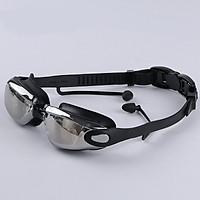 Kính Bơi Thời Trang Cao Cấp Tráng Gương Chống Tia UV Chống Hấp Hơi SKB101 Black