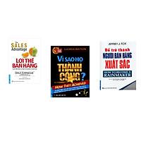 Combo 3 cuốn sách: Lợi Thế Bán Hàng + Vì Sao Họ Thành Công 1? +  Để Trở Thành Người Bán Hàng Xuất Sắc
