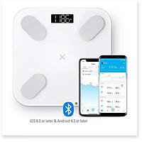 Cân điện tử sức khỏe kết nối với điện thoại ( IOS 8 và Android 4.3 trở lên )