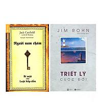 Combo  Bộ Sách Jim Rohn - Triết Lý Cuộc Đời (Tái Bản) + Người Nam Châm - Bí Mật Của Luật Hấp Dẫn (Tái Bản)