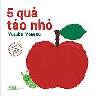Sách Lật Tương Tác Song Ngữ - 0-3 Tuổi - 5 Quả Táo Nhỏ