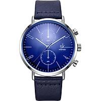 Đồng hồ nam chính hãng Shengke K8063G-02 Xanh