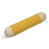 Gối Ôm Bèo Cotton Xốp Hometex - Vàng (90 x 30 cm)