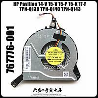 LAPTOP FAN For HP Pavilion 14-V 14-V028TX 15-V 15-P 15-K 17-F TPN-Q139 TPN-Q140 TPN-Q143 CPU Cooling Fan 767712-001 767776-001