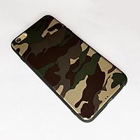 Ốp lưng camo màu xanh dành cho iPhone 6 Plus vs iPhone 6s Plus