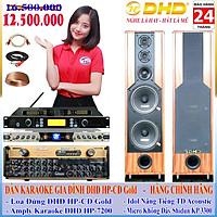 DÀN KARAOKE DHD HP-980 GOLD AMPLY+MIC+BXL (HÀNG CHÍNH HÃNG)