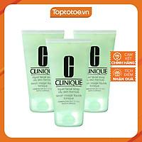 Combo 3 Tuýt Sữa Rửa Mặt Dành Cho Da Dầu Clinique Liquid Facial Soap Oily Skin Formula (30ml) - Minisize