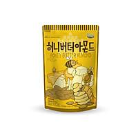 Hạt Hạnh Nhân tẩm Bơ Mật Ong Tom's Farm 210g Hàn Quốc