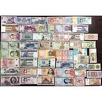 Combo 50 tờ tiền của 25 quốc gia khác nhau trên thế giới