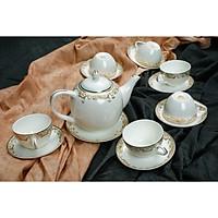 Bộ tách trà Sứ Xương 14 món 145401
