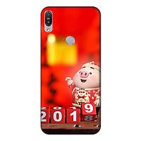Ốp lưng điện thoại Asus Zenfone Max Pro M1 hình Heo Con Chúc Tết Mẫu 2