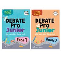 Combo Debate Pro Junior 1 + 2 - Nhà Tranh Biện Thông Minh