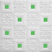 COMBO 10 Tấm Xốp Dán Tường Đính Decal Giả Da Nhẹ Nhàng - Dễ sử dụng, thân thiện với môi trường Không độc hại, không mùi - Chống ẩm mốc,chống thấm  - Cách âm,cách nhiệt - Tiện dụng,tránh va đập mạnh,an toàn cho Bé