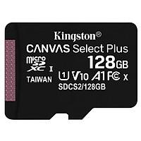 Thẻ nhớ microSDXC Kingston Canvas Select Plus 100mb - 128GB - hàng nhập khẩu