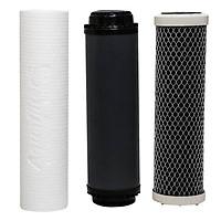 Bộ Lõi Lọc Cấp 1,2,3 Máy Lọc Nước RO Aquafilter (lõi lọc than hoạt tính) - Hàng chính hãng