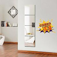 COMBO Set 3 Gương dán tường 30x30cm