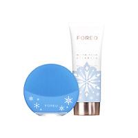 EO ) (FOREO) cleansing instrument silicone electric pore cleaning beauty instrument wash instrument app smart Luna mini 3 generation LUNA MINI3 pink