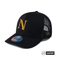 Mũ nón  Cap Caper đen N logo nhiều màu size M-L
