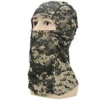 khăn trùm đầu màu lính , khăn trùm đầu chống nắng