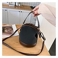 Túi đeo chéo nữ hộp dáng tròn thời trang giá rẻ BAG U TOD18