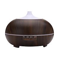 Máy xông siêu âm khuếch tán tinh dầu bí ngô lớn vân gỗ tối Cetronic