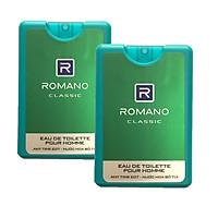 Bộ 2 Chai nước Hoa Romano Classic (18ml*2)