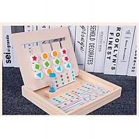 Bộ trò chơi Four color logic game B