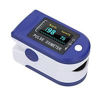 Máy đo huyết áp kẹt ngón tay kỹ thuật số màn hình LED đo nồng độ Oxy, SpO2 trong máu