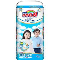 Tã quần Goon Premium cao cấp gói siêu đại XXXL32 (18kg ~ 30kg) 32 miếng