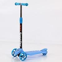 Xe trượt scooter 3 bánh cao cấp dành cho bé, phát nhạc, bánh xe phát sáng vĩnh cửu, rèn luyện vận động, tăng chiều cao cho bé, chịu lực lên tới 90kg