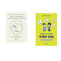 Combo 2 cuốn sách: Proust có thể thay đổi cuộc đời bạn như thế nào  + Tâm lý học tiếp thị