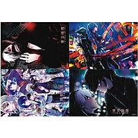 Poster ảnh anime Tokyo Ghoul Ngạ Quỷ Tokyo 8 tấm A3 chibi