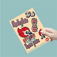 Độc lập, Tự Do, Hạnh Phúc - Single Sticker hình dán lẻ