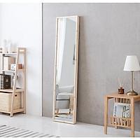 Gương soi toàn thân khung gỗ Nab02