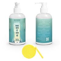 Dung dịch vệ sinh phụ nữ màu xanh mùi ngày hè tươi mát LOLI & THE WOLF (chai lớn 250ml), Tặng Kèm Mút Rửa Mặt