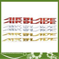 Tem chữ nổi xe Air Blade mạ xi - Tem chữ Airblade Green Networks Group