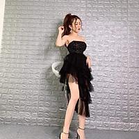 Đầm dự tiệc cúp kết chuỗi cườm TRIPBLE T DRESS - Size M/L -MS135V