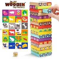 Đồ chơi rút gỗ hình động vật