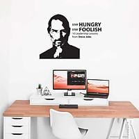 Decal Trang Trí Phòng Làm Việc, Decal Trang Trí Phòng Ngủ, Decal Trang Trí Phòng Khách | Decal Chủ Đề Câu Nói Nối Tiếng Của Steve Jobs
